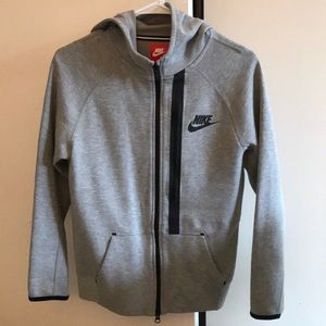 NIKE grey jacket (with neon green details)